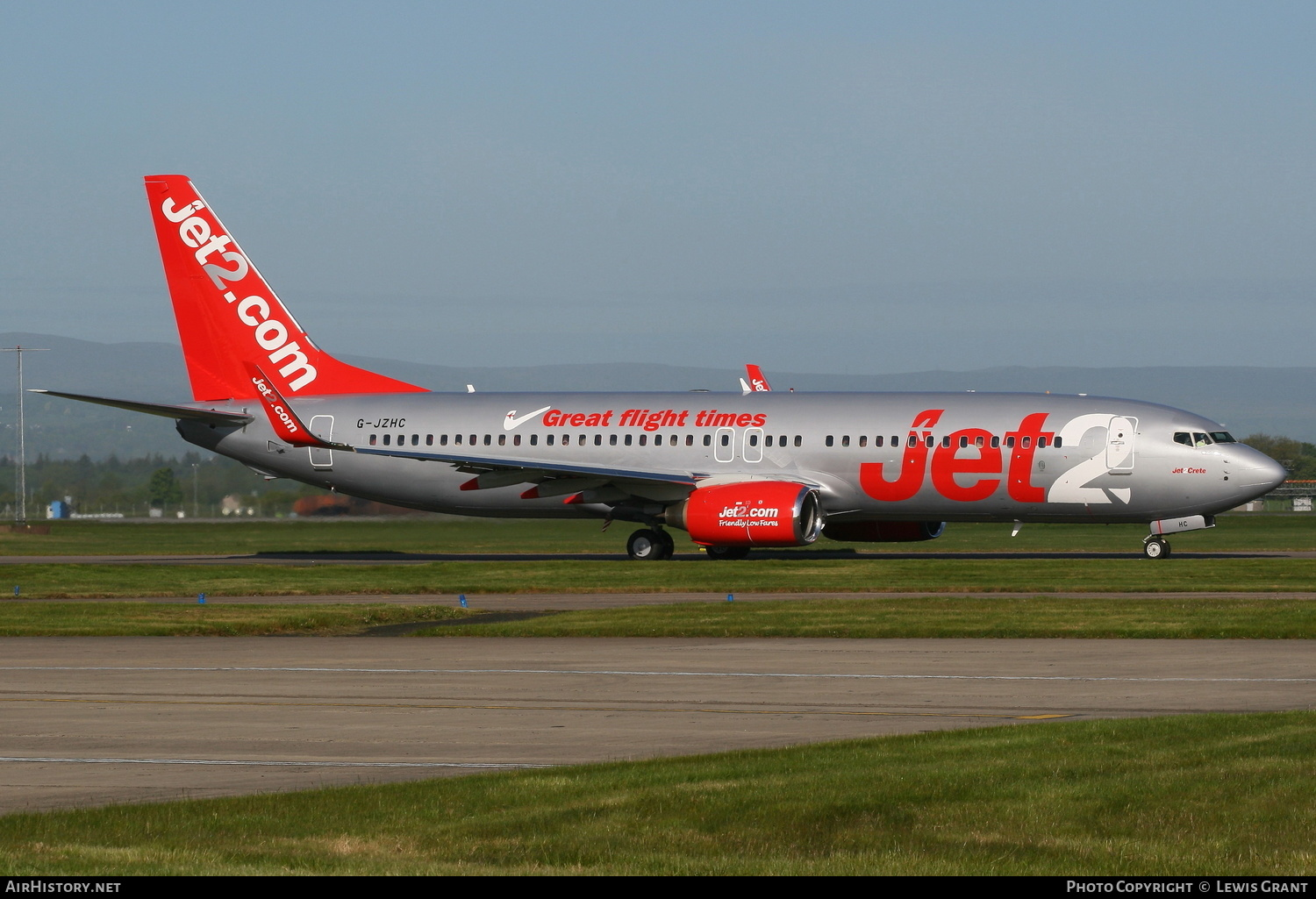 Aircraft Photo of G-JZHC | Boeing 737-8K5 | Jet2 | AirHistory.net