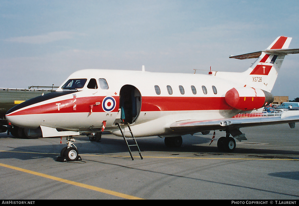 Aircraft Photo of XS726 | Hawker Siddeley HS-125-2 Dominie T1 | UK - Air Force | AirHistory.net