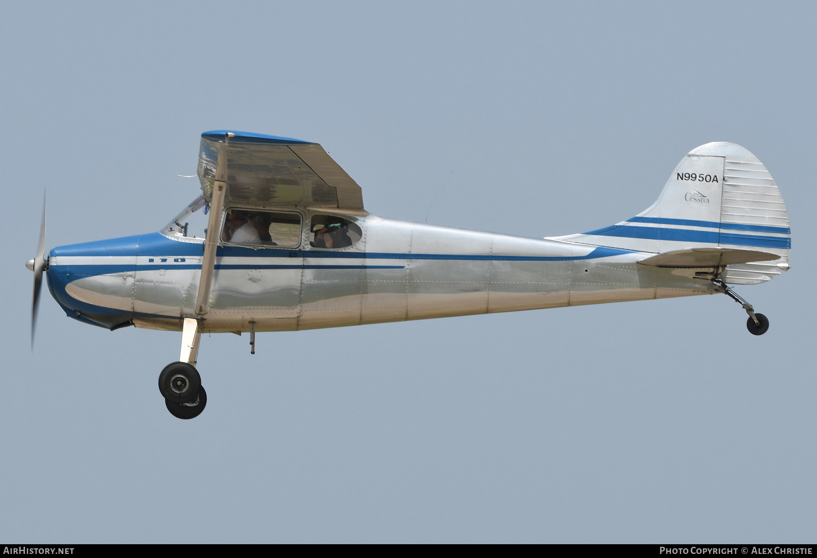 Aircraft Photo of N9950A | Cessna 170A | AirHistory.net