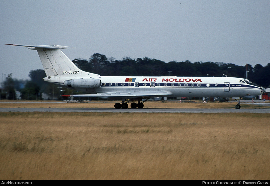 Aircraft Photo of ER-65707 | Tupolev Tu-134AK3 | Air Moldova | AirHistory.net