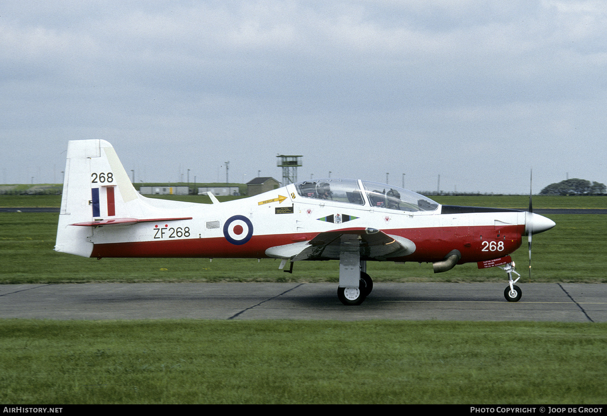 Aircraft Photo of ZF268 | Short S-312 Tucano T1 | UK - Air Force | AirHistory.net