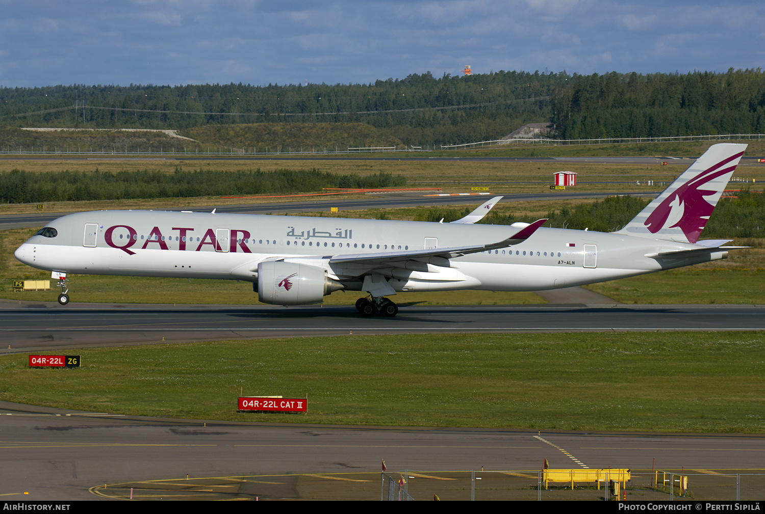 Aircraft Photo of A7-ALN | Airbus A350-941 | Qatar Airways | AirHistory.net