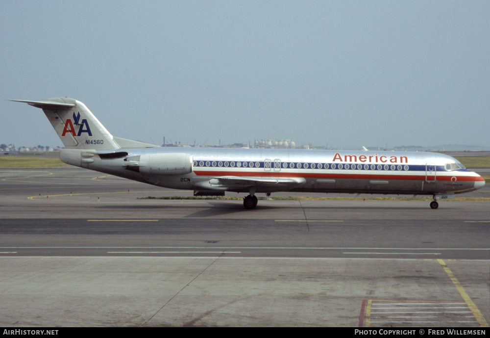 Aircraft Photo of N1456D | Fokker 100 (F28-0100) | American Airlines | AirHistory.net