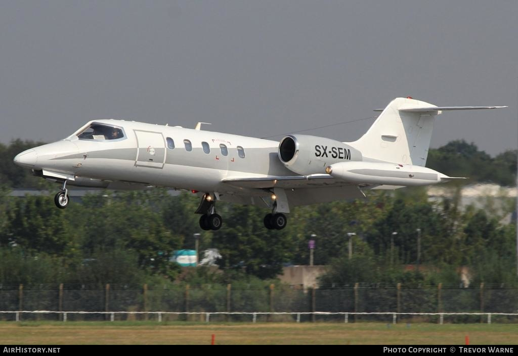 Aircraft Photo of SX-SEM | Gates Learjet 35A | AirHistory.net