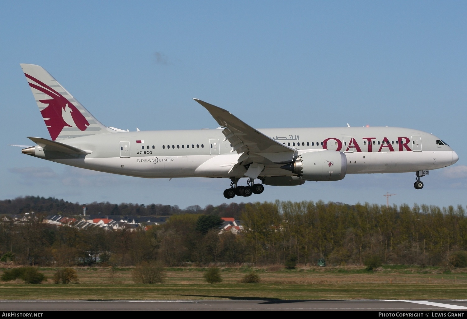 Aircraft Photo of A7-BCQ | Boeing 787-8 Dreamliner | Qatar Airways | AirHistory.net