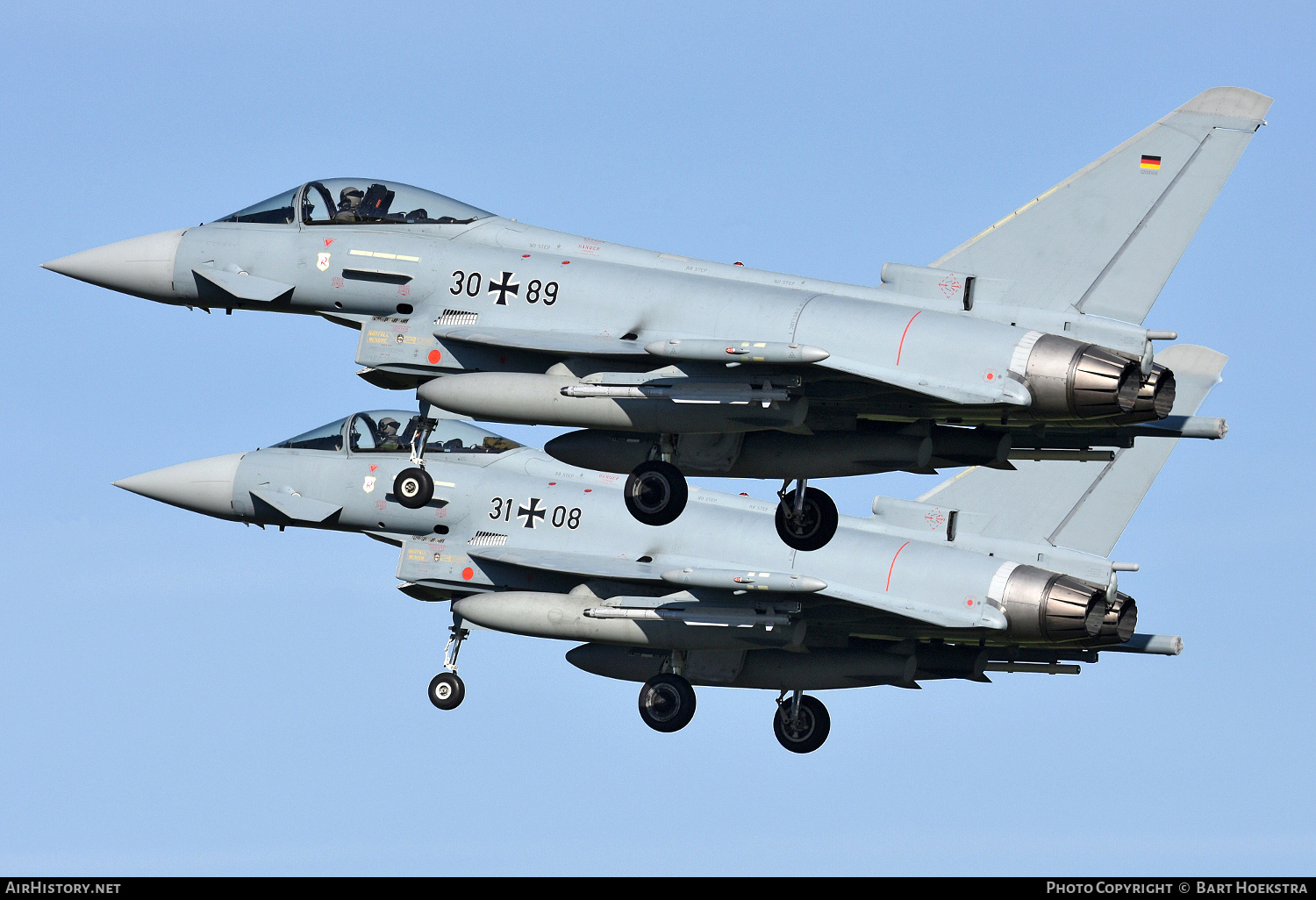 Aircraft Photo of 3089 | Eurofighter EF-2000 Typhoon ... | Germany - Air Force | AirHistory.net