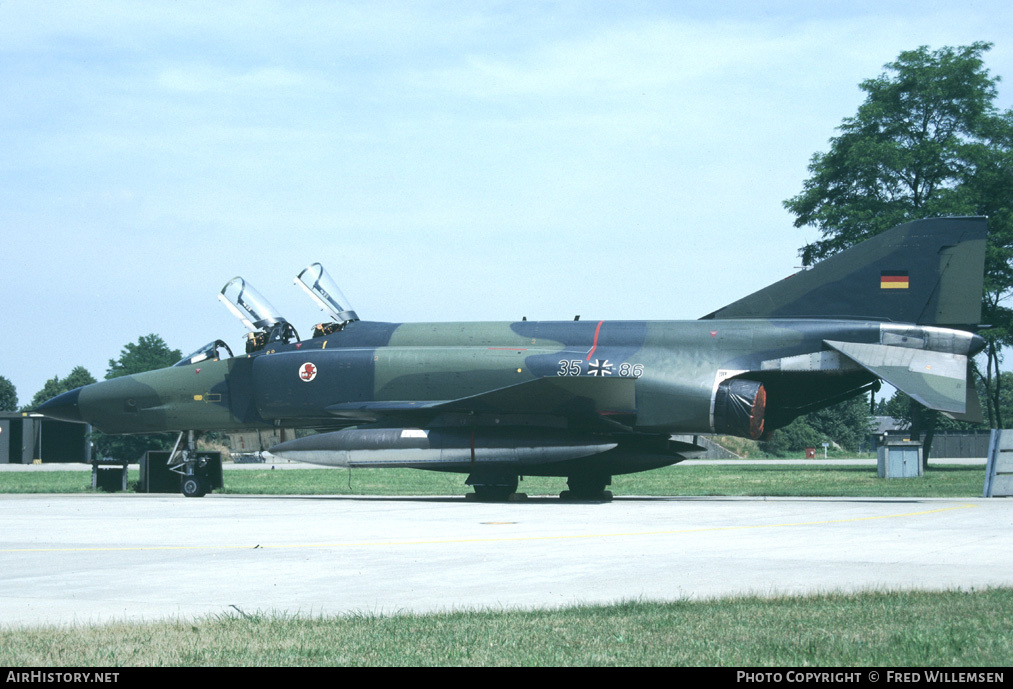 Aircraft Photo of 3586 | McDonnell Douglas RF-4E Phantom II | Germany - Air Force | AirHistory.net