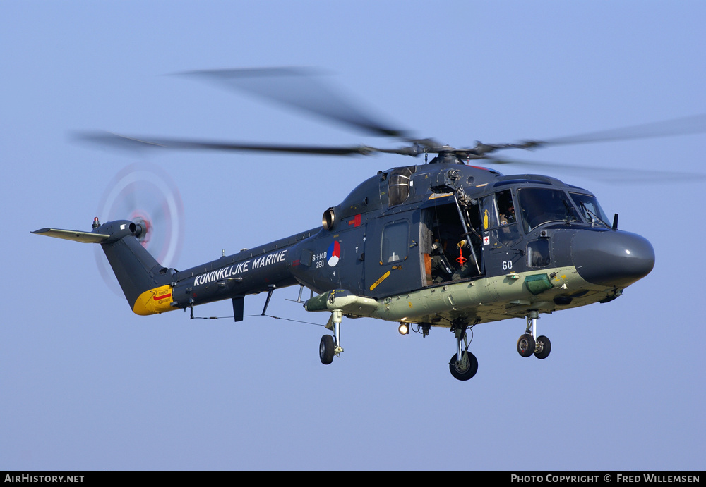 Aircraft Photo of 260 | Westland SH-14D Lynx (WG-13) | Netherlands - Navy | AirHistory.net