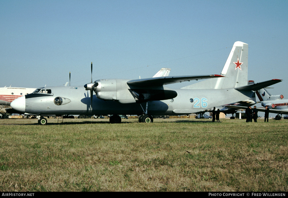 Aircraft Photo of 26 blue | Antonov An-26 | Russia - Air Force | AirHistory.net