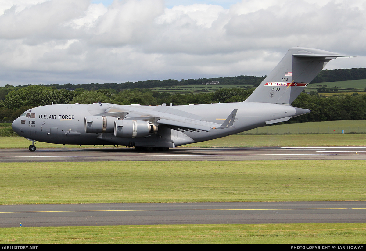 Aircraft Photo of 02-1100 / 21100 | Boeing C-17A Globemaster III | USA - Air Force | AirHistory.net