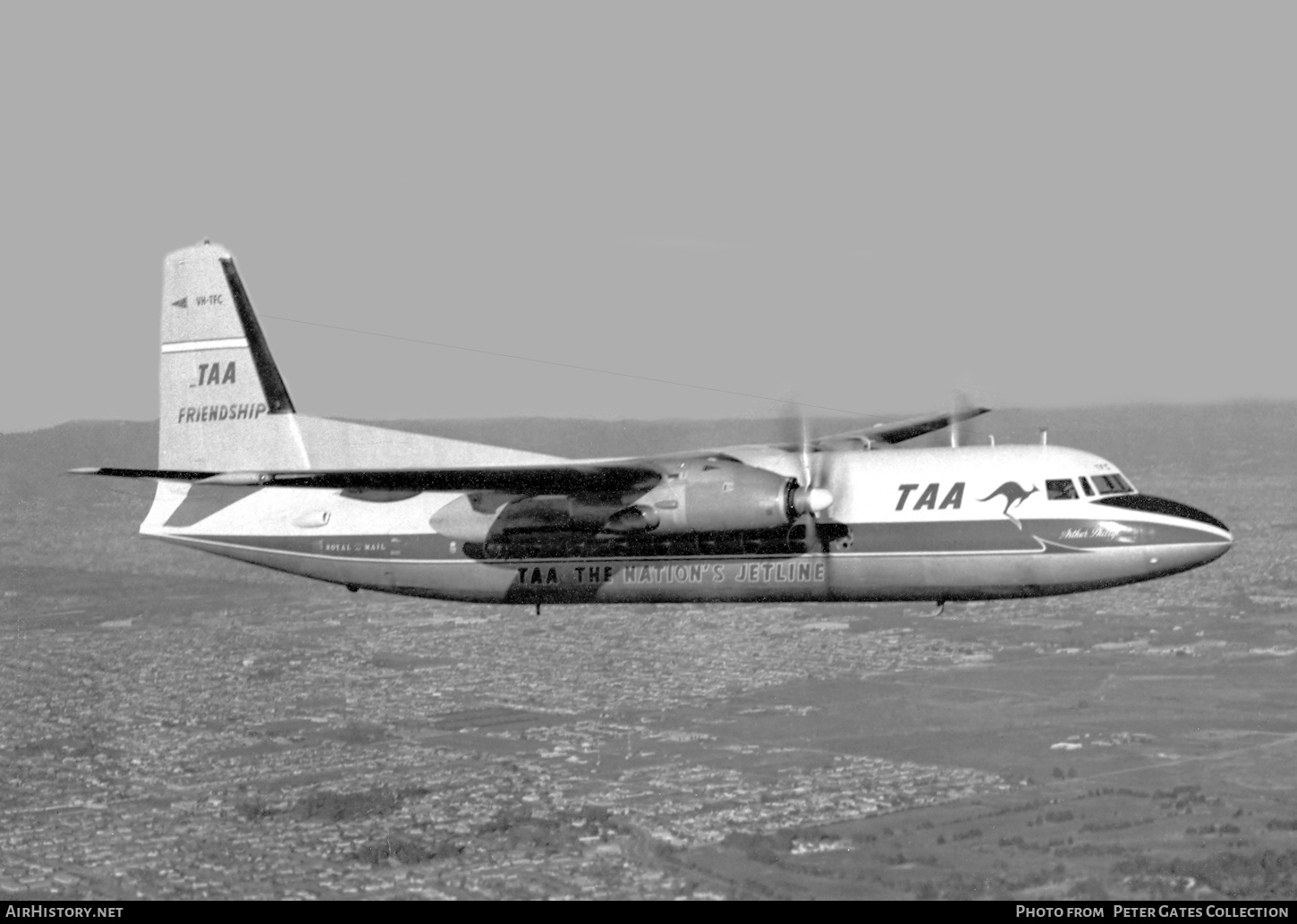 Aircraft Photo of VH-TFC | Fokker F27-100 Friendship | Trans-Australia Airlines - TAA | AirHistory.net