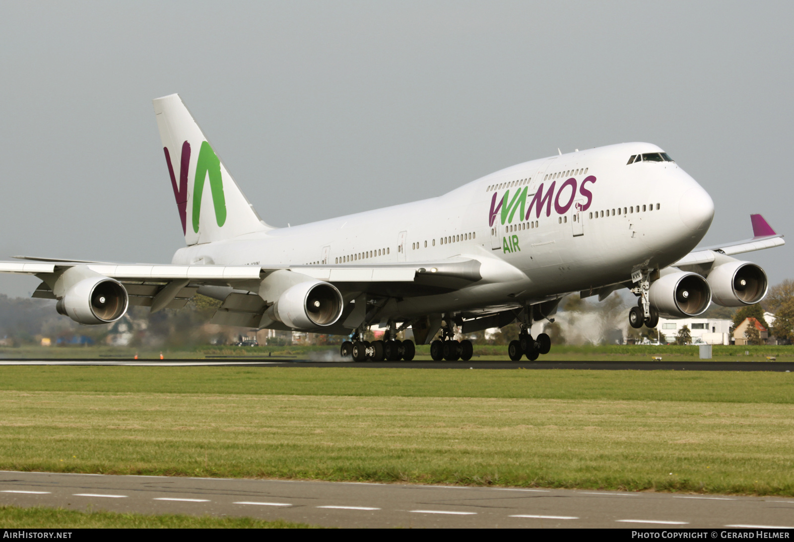 Aircraft Photo of EC-KXN | Boeing 747-4H6 | Wamos Air | AirHistory.net