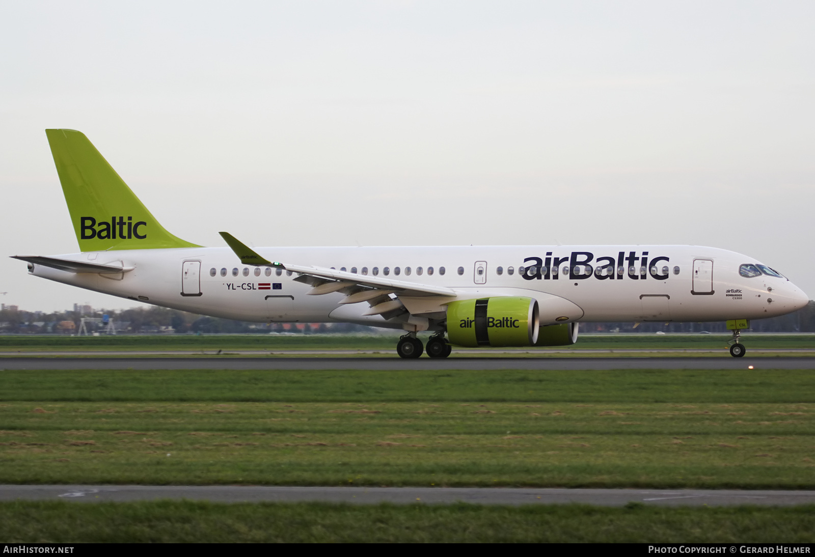 Aircraft Photo of YL-CSL | Airbus A220-300 (CS300) | AirBaltic | AirHistory.net