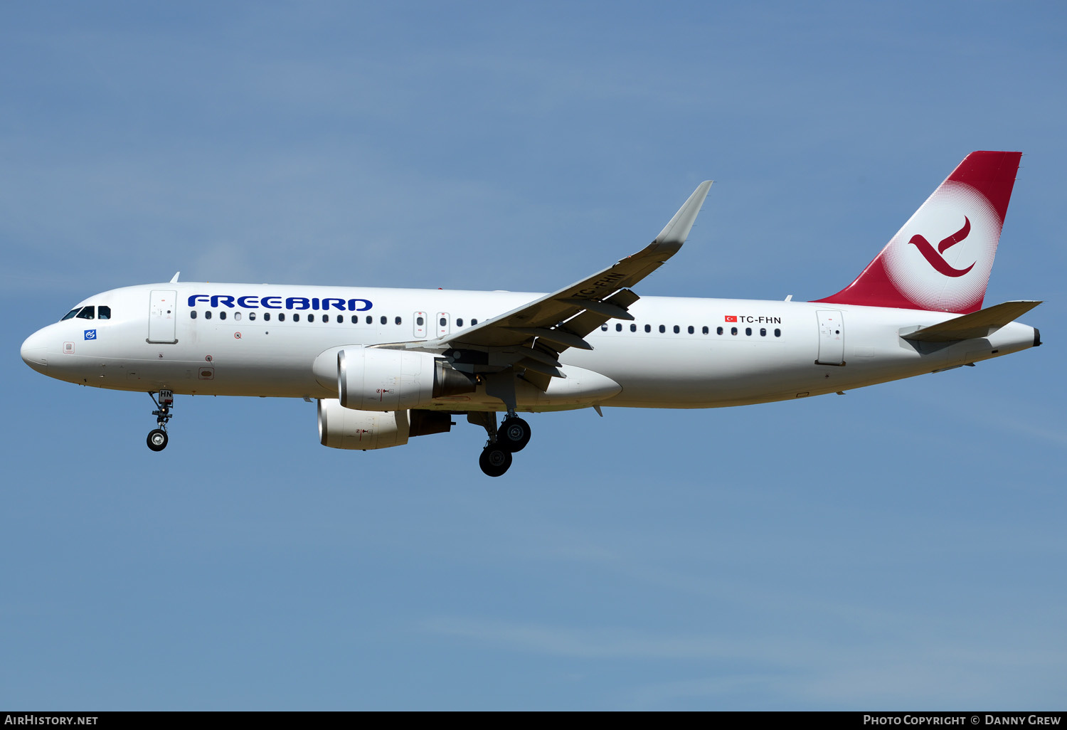 Aircraft Photo of TC-FHN | Airbus A320-214 | Freebird Airlines | AirHistory.net