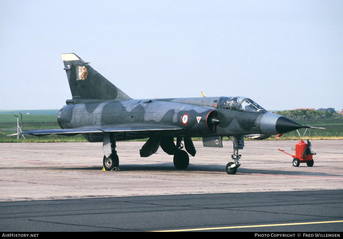 Aircraft Photo of 609 | Dassault Mirage IIIE | France - Air Force | AirHistory.net