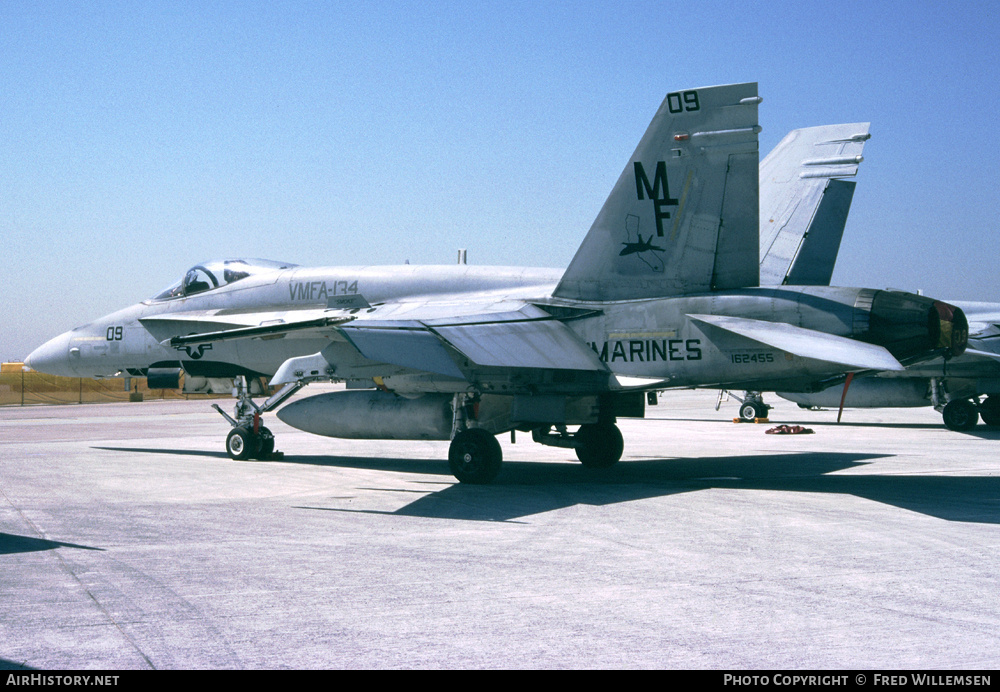 Aircraft Photo of 162455 | McDonnell Douglas F/A-18A Hornet | USA - Marines | AirHistory.net