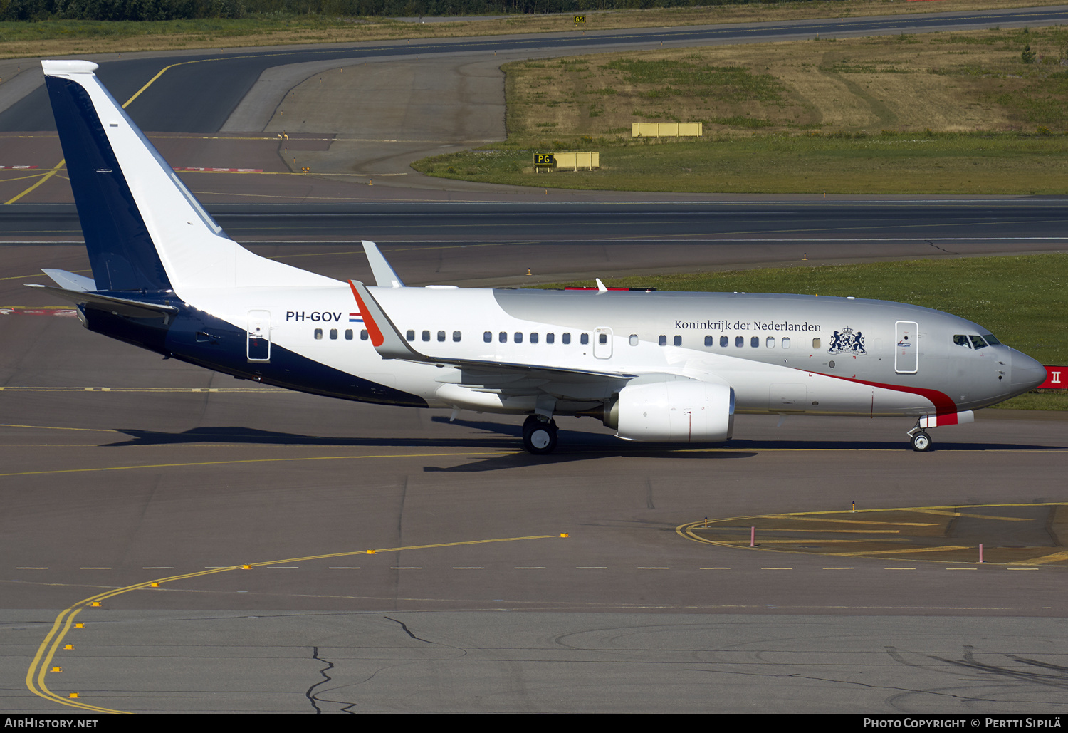 Aircraft Photo of PH-GOV | Boeing 737-700 BBJ | Netherlands Government | AirHistory.net