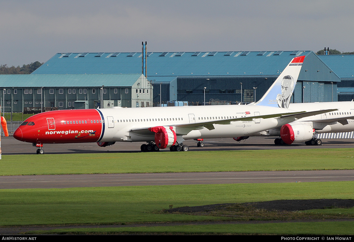Aircraft Photo of SE-RXY | Boeing 787-9 Dreamliner | Norwegian Air Shuttle | AirHistory.net