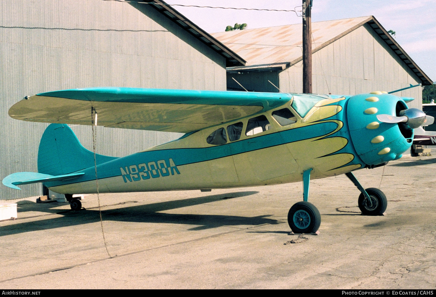 Aircraft Photo of N9300A | Cessna 195A | AirHistory.net