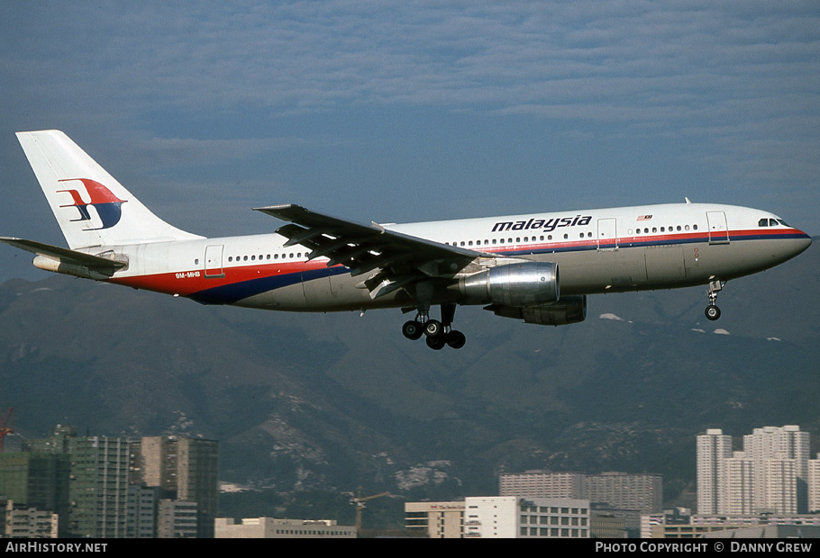 Aircraft Photo of 9M-MHB | Airbus A300B4-203 | Malaysia Airlines | AirHistory.net