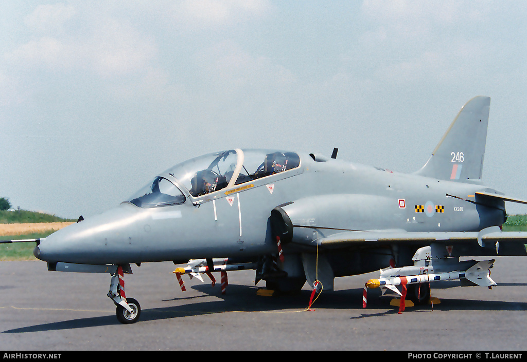 Aircraft Photo of XX246 | British Aerospace Hawk T1A | UK - Air Force | AirHistory.net