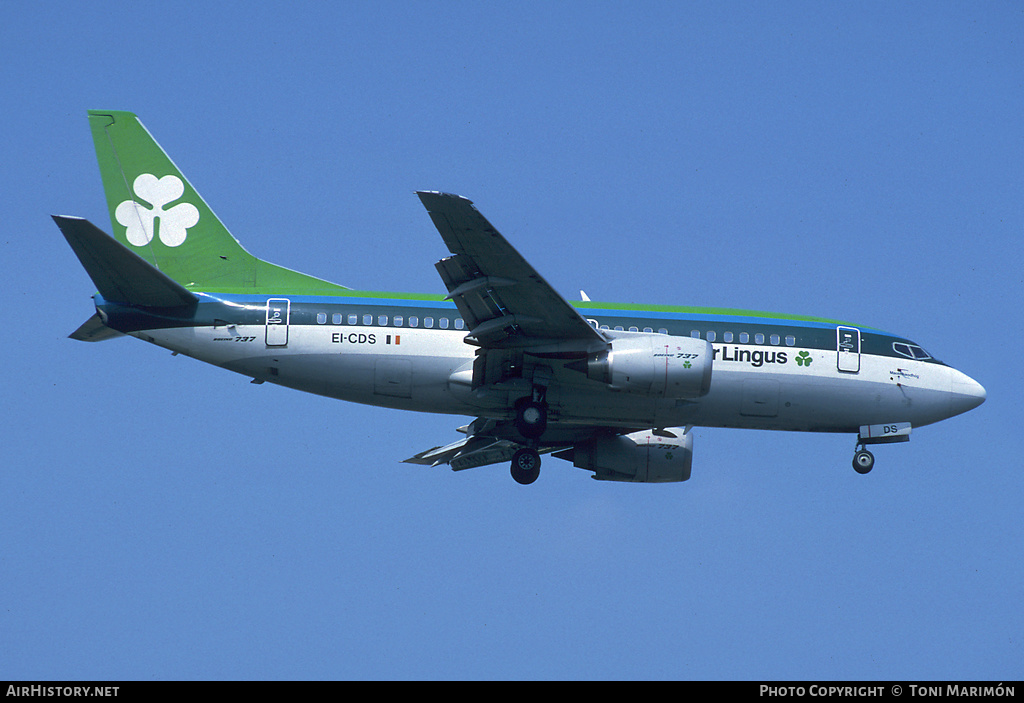Aircraft Photo of EI-CDS | Boeing 737-548 | Aer Lingus | AirHistory.net #164634