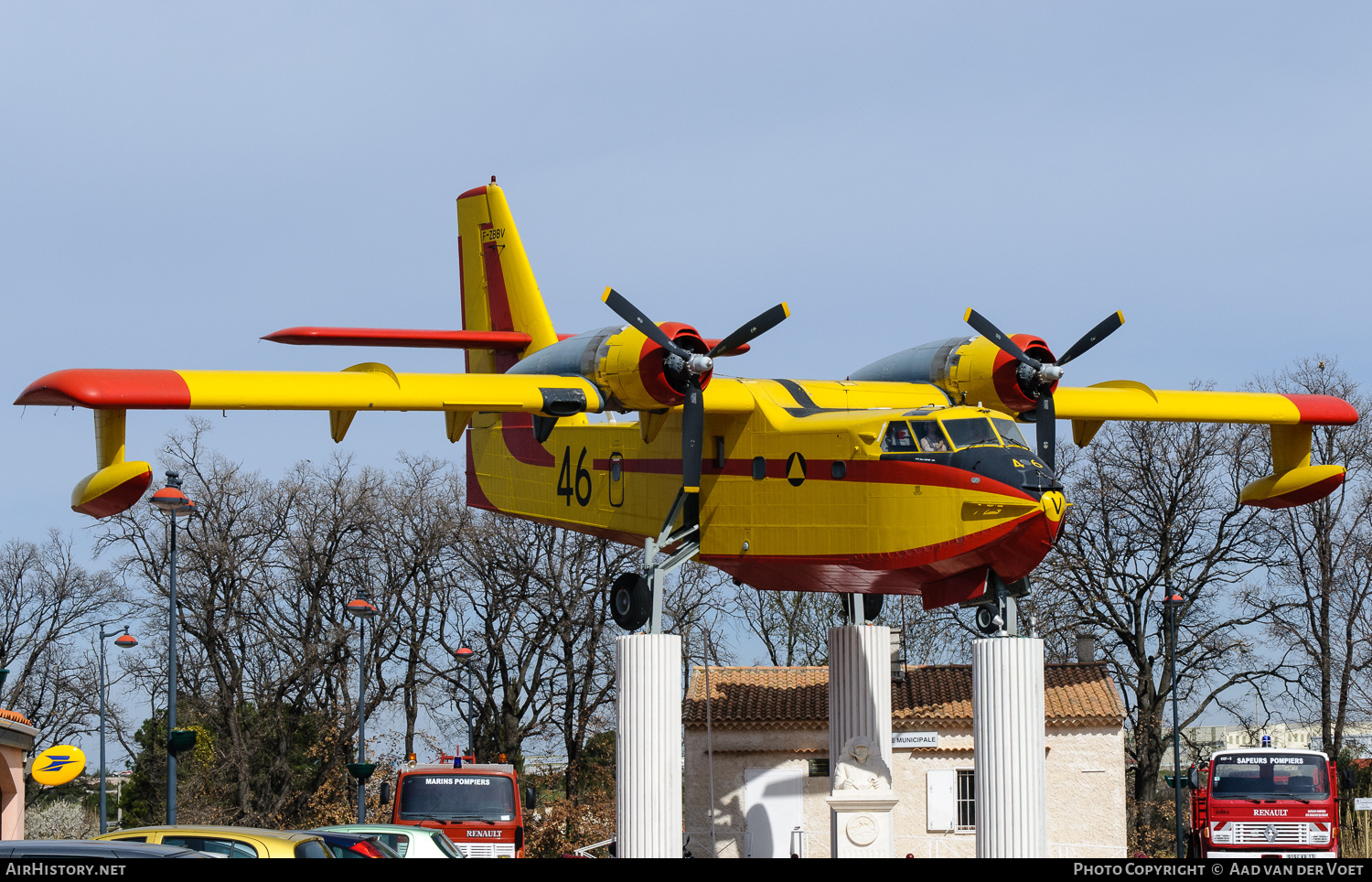 Aircraft Photo of F-ZBBV | Canadair CL-215-II (CL-215-1A10) | Sécurité Civile | AirHistory.net