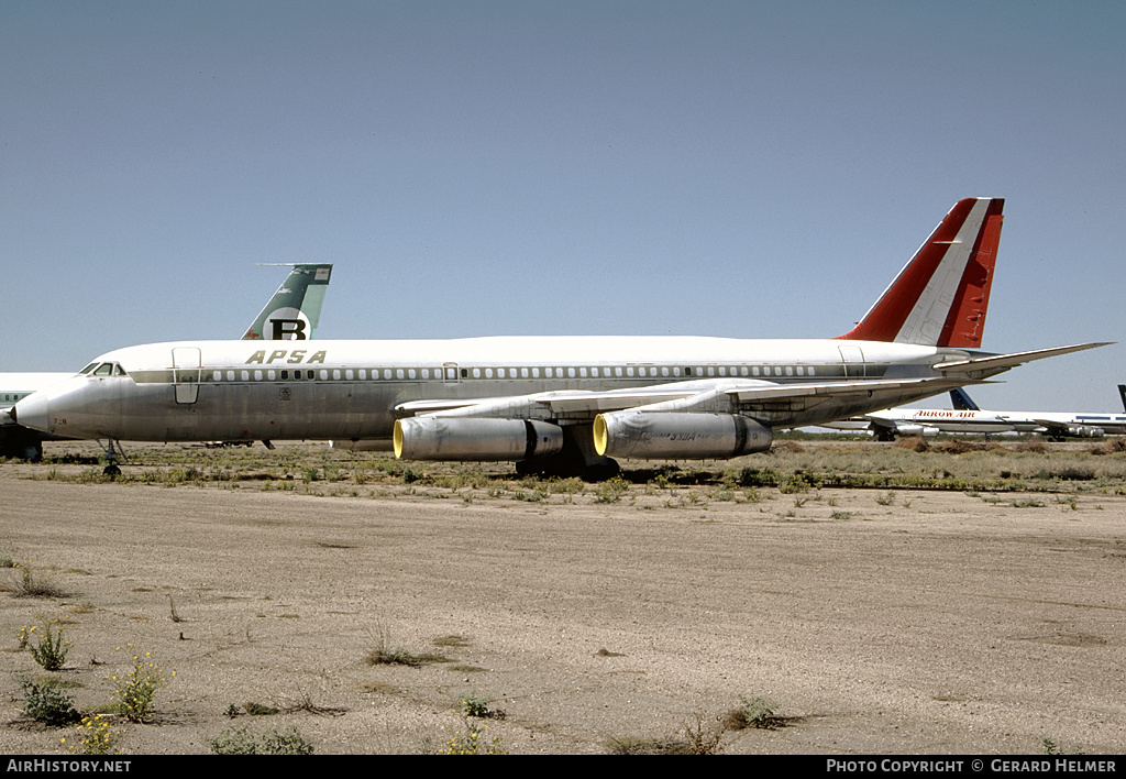 Aircraft Photo of N990AC | Convair 990A (30A-6) | APSA - Aerolineas Peruanas | AirHistory.net