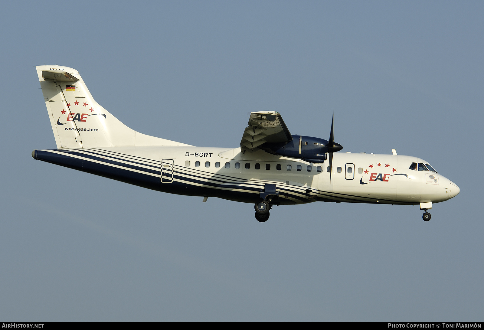 Aircraft Photo of D-BCRT | ATR ATR-42-300QC | European Air Express - EAE | AirHistory.net #166946