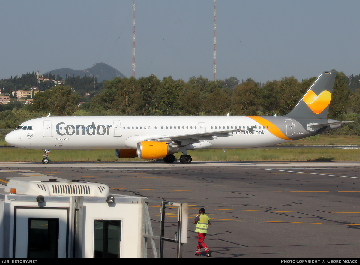 Aircraft Photo of D-ATCA | Airbus A321-211 | Condor Flugdienst | AirHistory.net