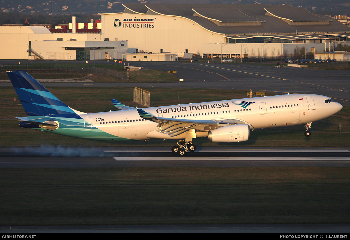 Aircraft Photo of F-WWKK | Airbus A330-243 | Garuda Indonesia | AirHistory.net