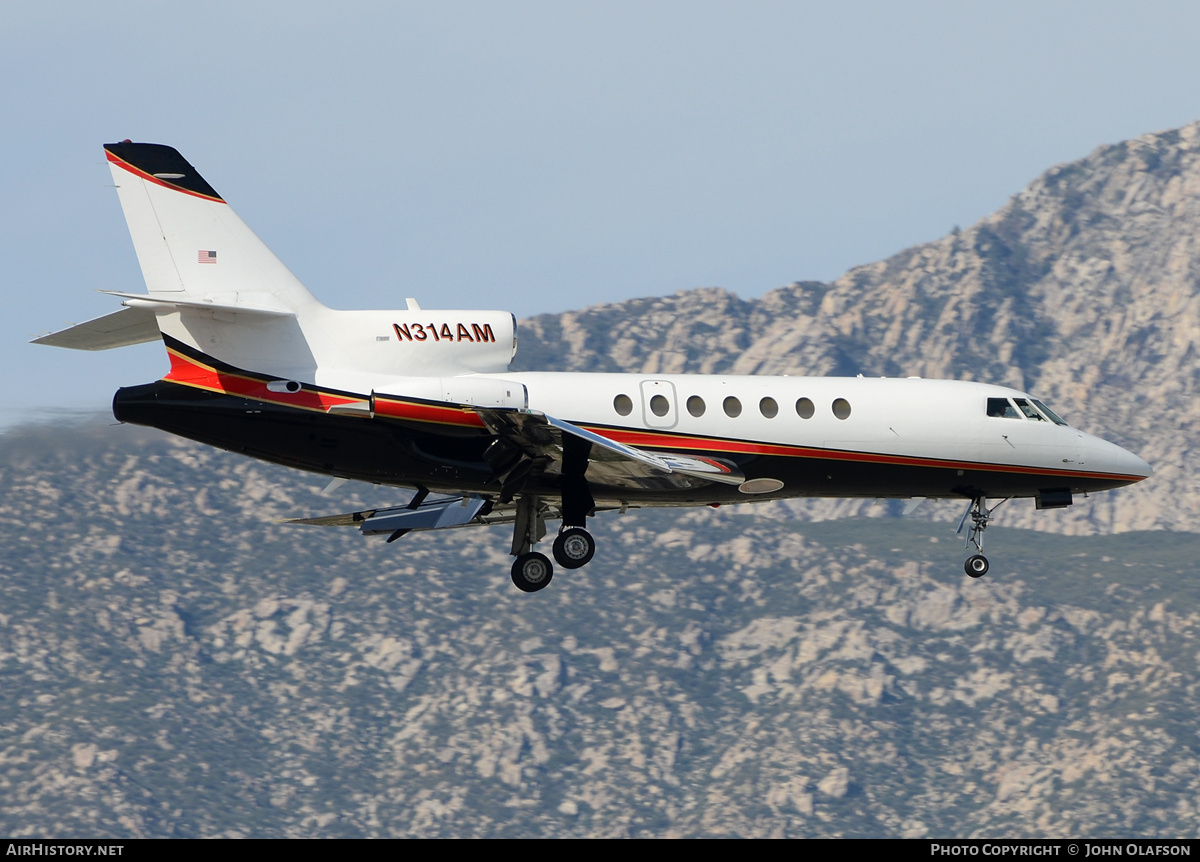 Aircraft Photo of N314AM | Dassault Falcon 50 | AirHistory.net