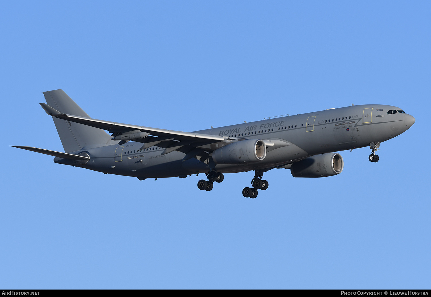 Aircraft Photo of ZZ335 | Airbus A330 Voyager KC3 (A330-243MRTT) | UK - Air Force | AirHistory.net