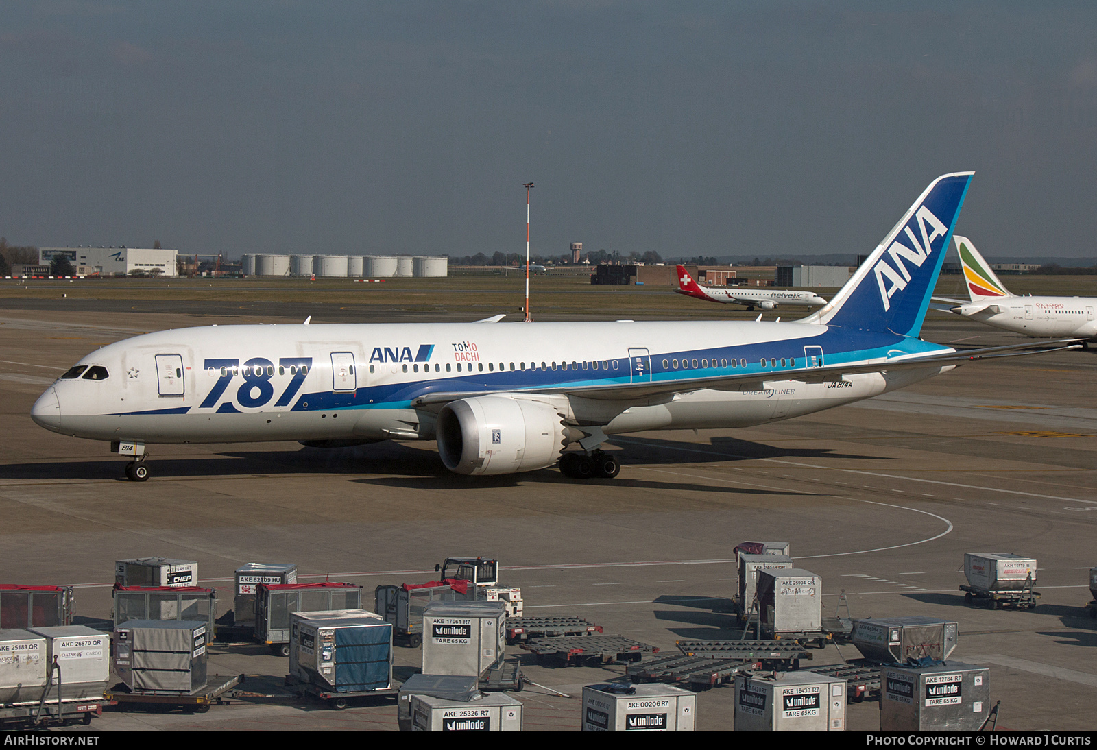 Aircraft Photo of JA814A | Boeing 787-8 Dreamliner | All Nippon Airways - ANA | AirHistory.net
