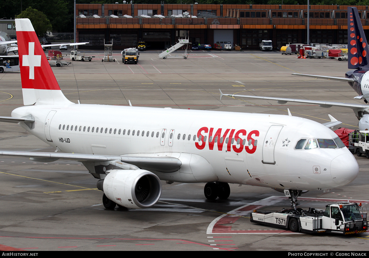 Aircraft Photo of HB-IJD | Airbus A320-214 | Swiss International Air Lines | AirHistory.net #175864