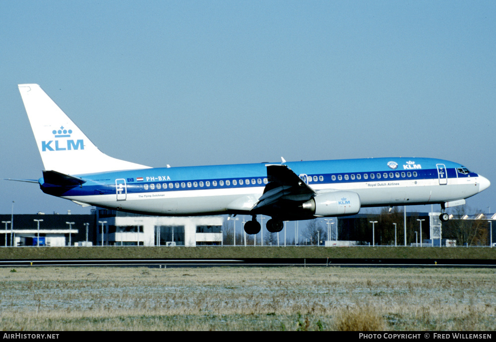 Aircraft Photo of PH-BXA | Boeing 737-8K2 | KLM - Royal Dutch Airlines | AirHistory.net