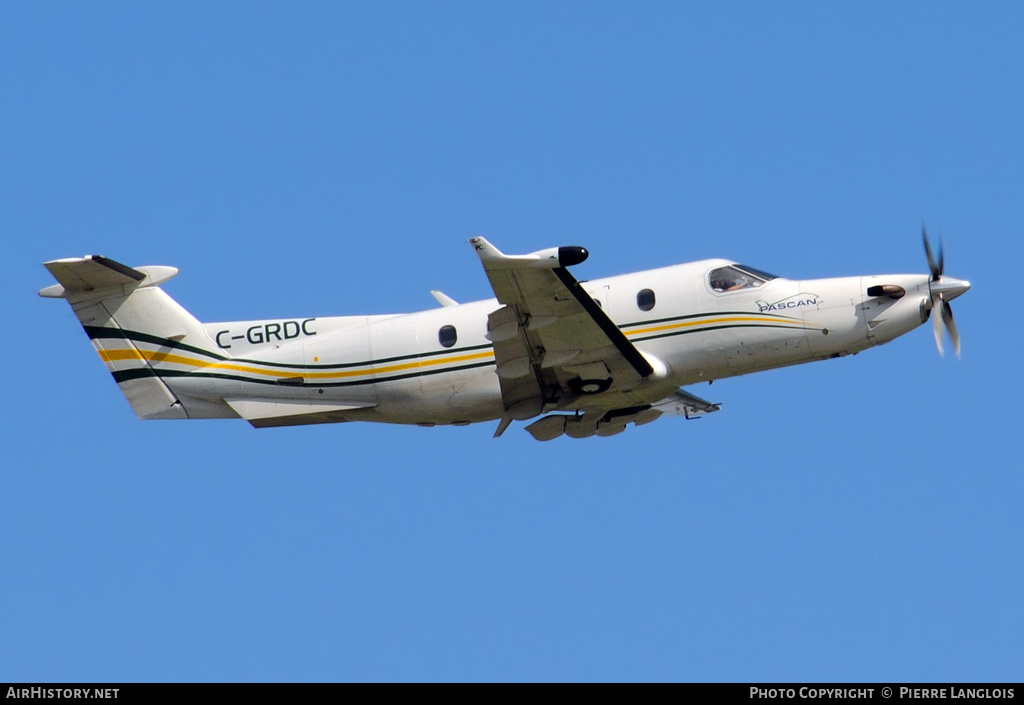 Aircraft Photo of C-GRDC | Pilatus PC-12/45 | Pascan Aviation | AirHistory.net #178162