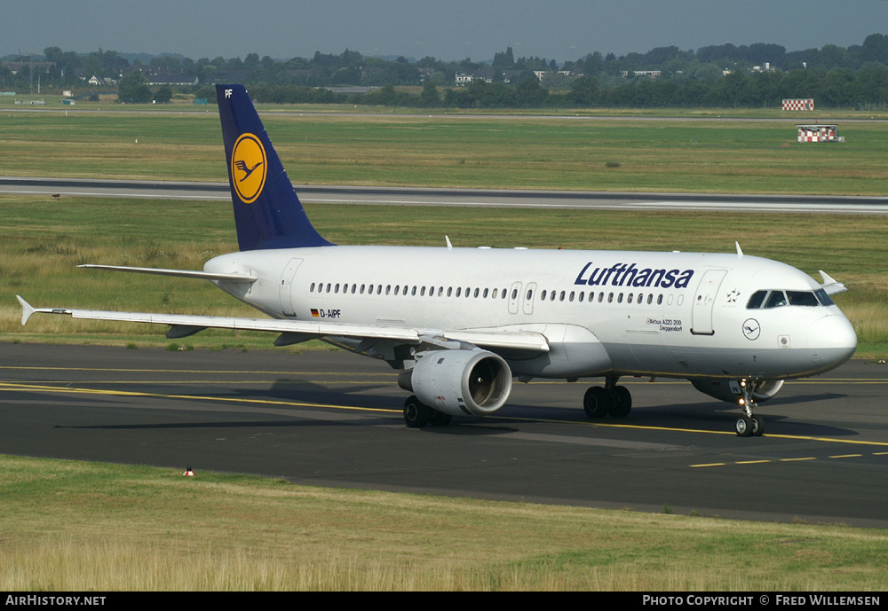 Aircraft Photo of D-AIPF | Airbus A320-211 | Lufthansa | AirHistory.net #178252