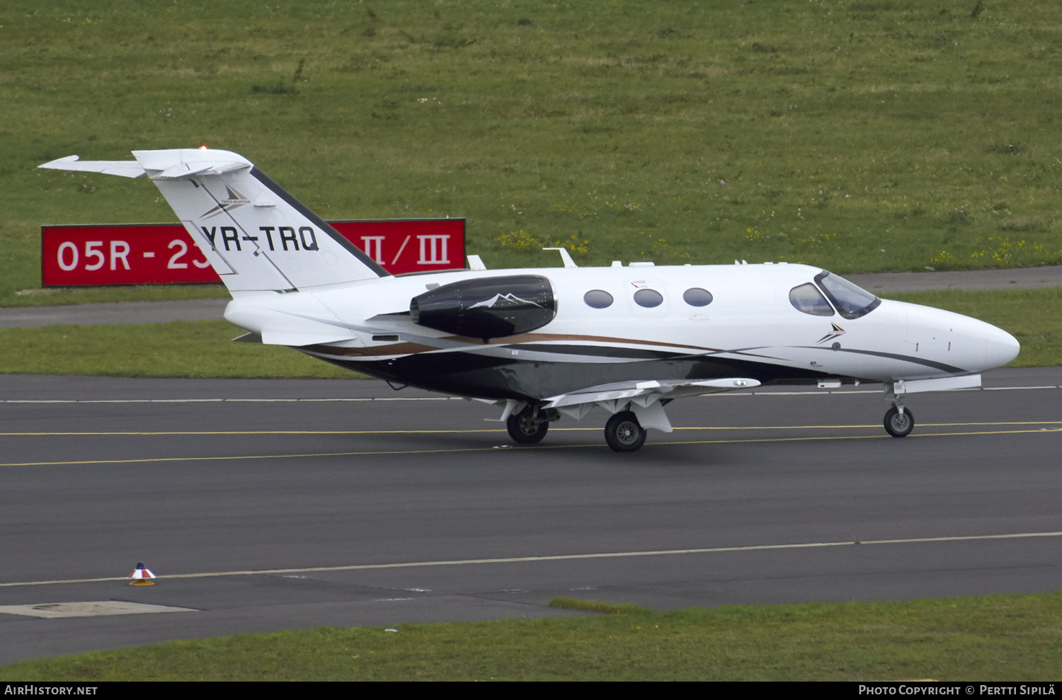 Aircraft Photo of YR-TRQ | Cessna 510 Citation Mustang | Toyo Aviation | AirHistory.net #179292
