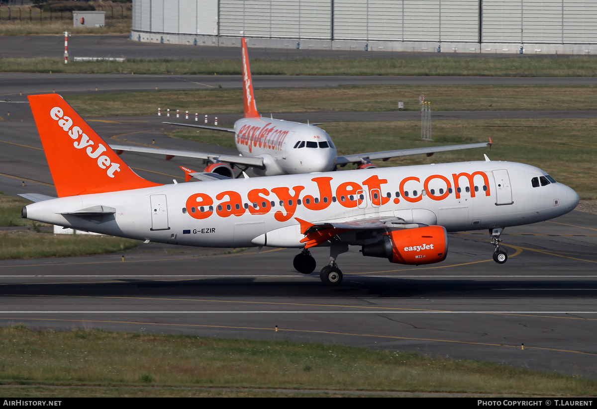 Aircraft Photo of G-EZIR | Airbus A319-111 | EasyJet | AirHistory.net #179696