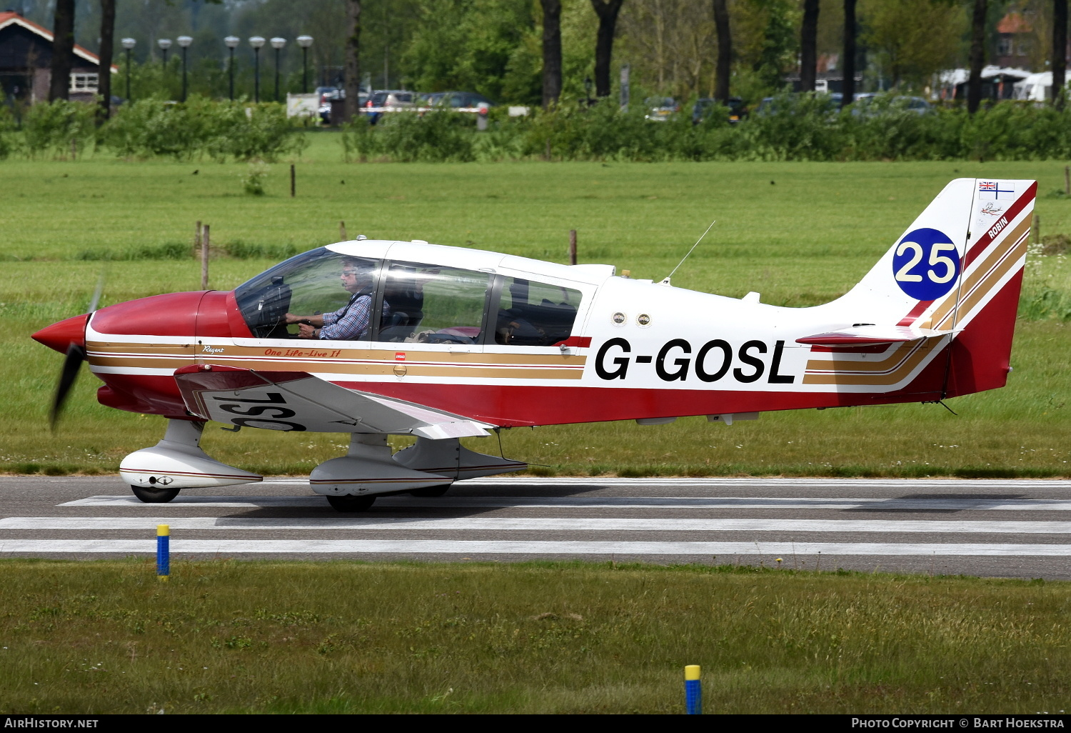 Aircraft Photo of G-GOSL | Robin DR-400-180 Regent | AirHistory.net #179870
