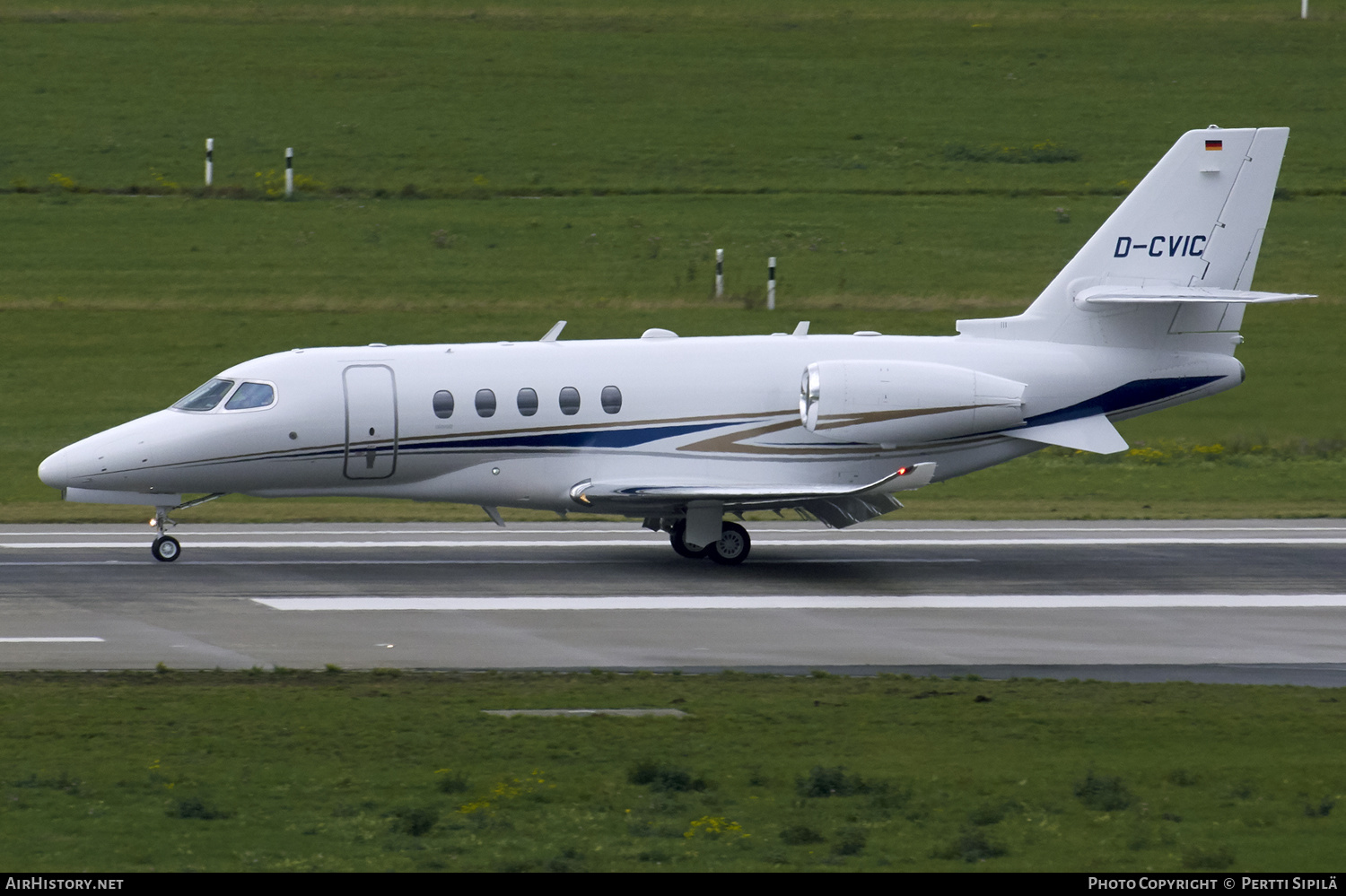 Aircraft Photo of D-CVIC | Cessna 680A Citation Latitude | AirHistory.net #180016