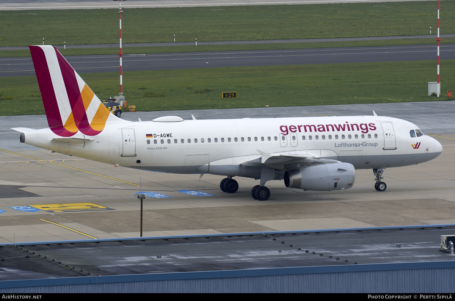 Aircraft Photo of D-AGWE | Airbus A319-132 | Germanwings | AirHistory.net #180765