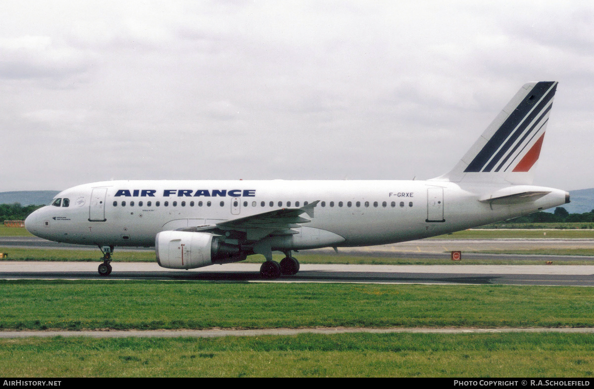 Aircraft Photo of F-GRXE | Airbus A319-111 | Air France | AirHistory.net #181106