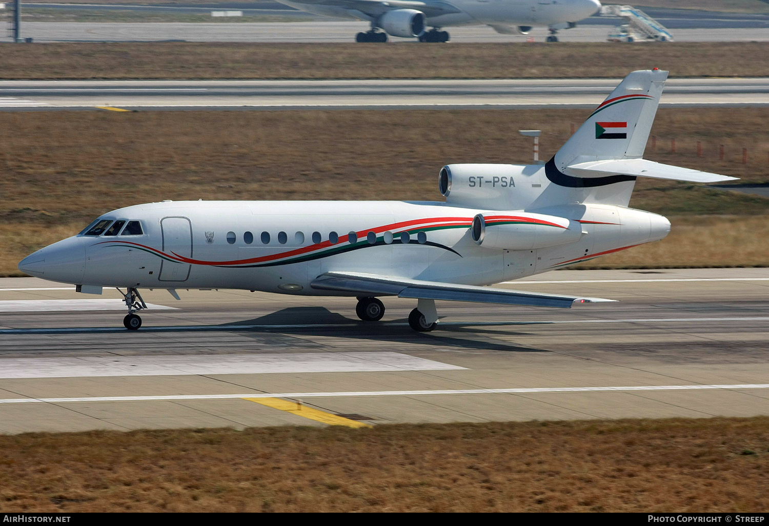 Aircraft Photo of ST-PSA | Dassault Falcon 900 | Sudan Government | AirHistory.net #181755