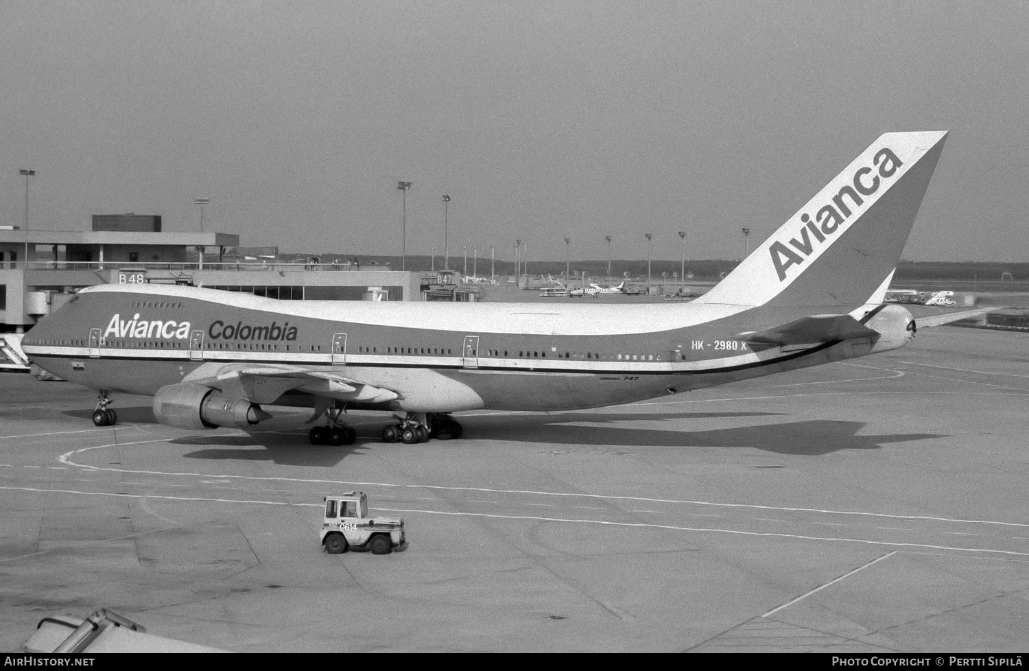 Aircraft Photo of HK-2980X | Boeing 747-259BM | Avianca Colombia | AirHistory.net #182137