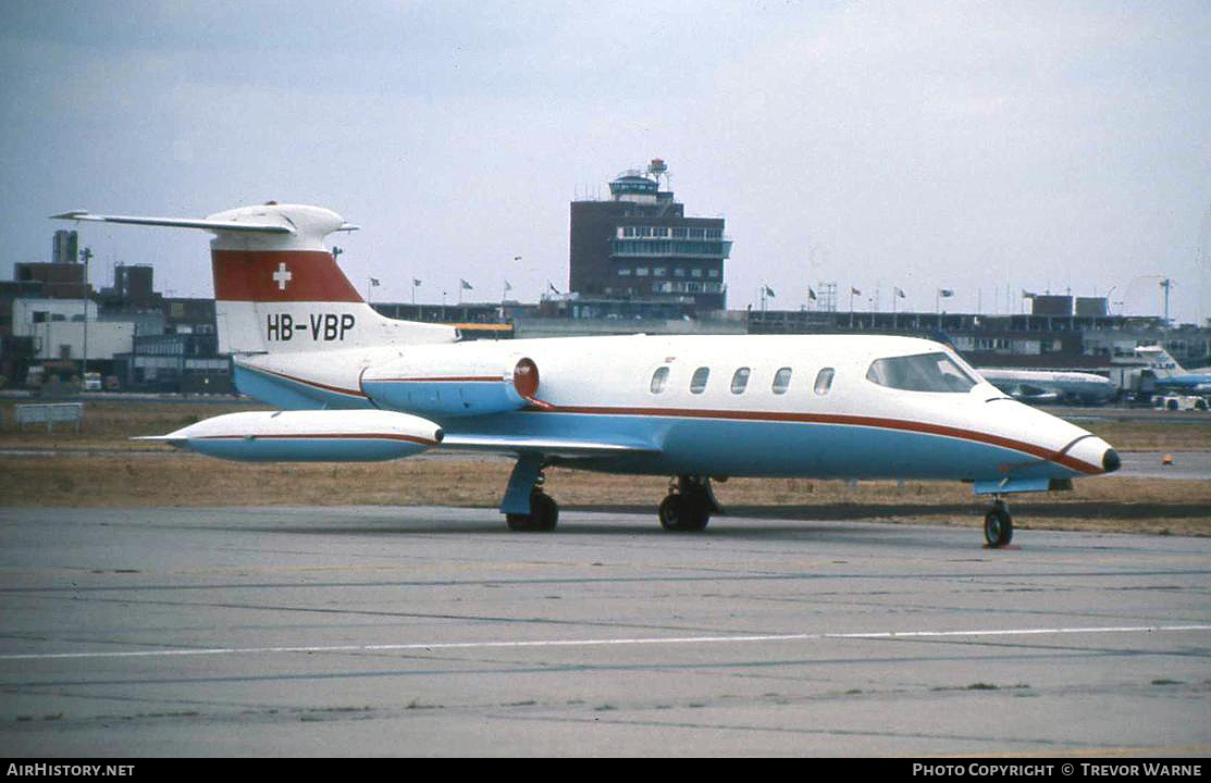 Aircraft Photo of HB-VBP | Lear Jet 25 | AirHistory.net #182376