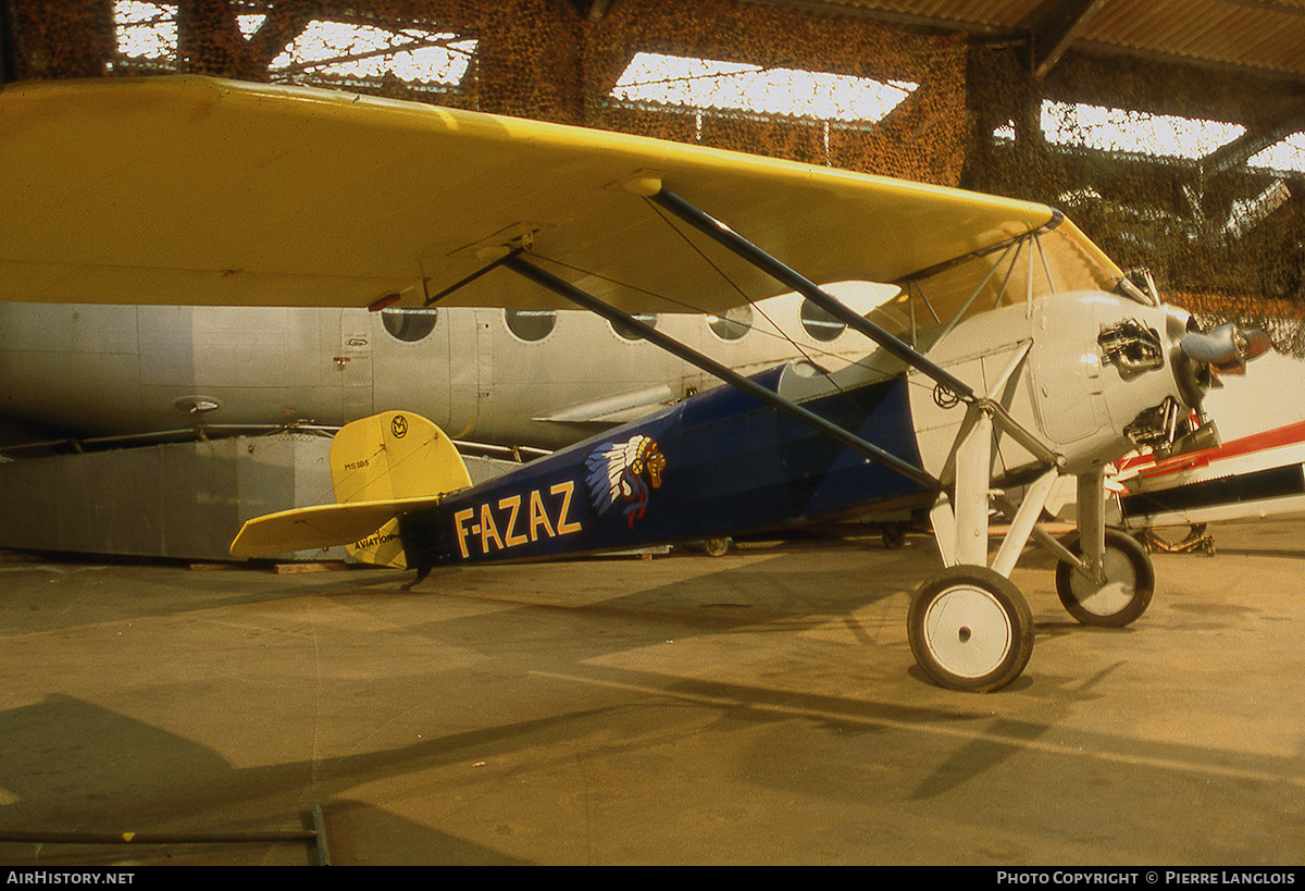 Aircraft Photo of F-AZAZ | Morane-Saulnier MS-185 Avionnette | AirHistory.net