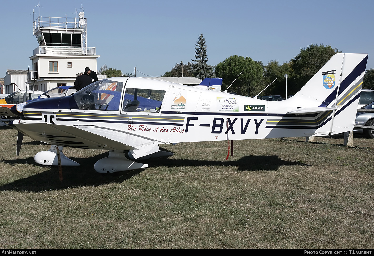 Aircraft Photo of F-BXVY | Robin DR-400-180 Regent | AirHistory.net #183537