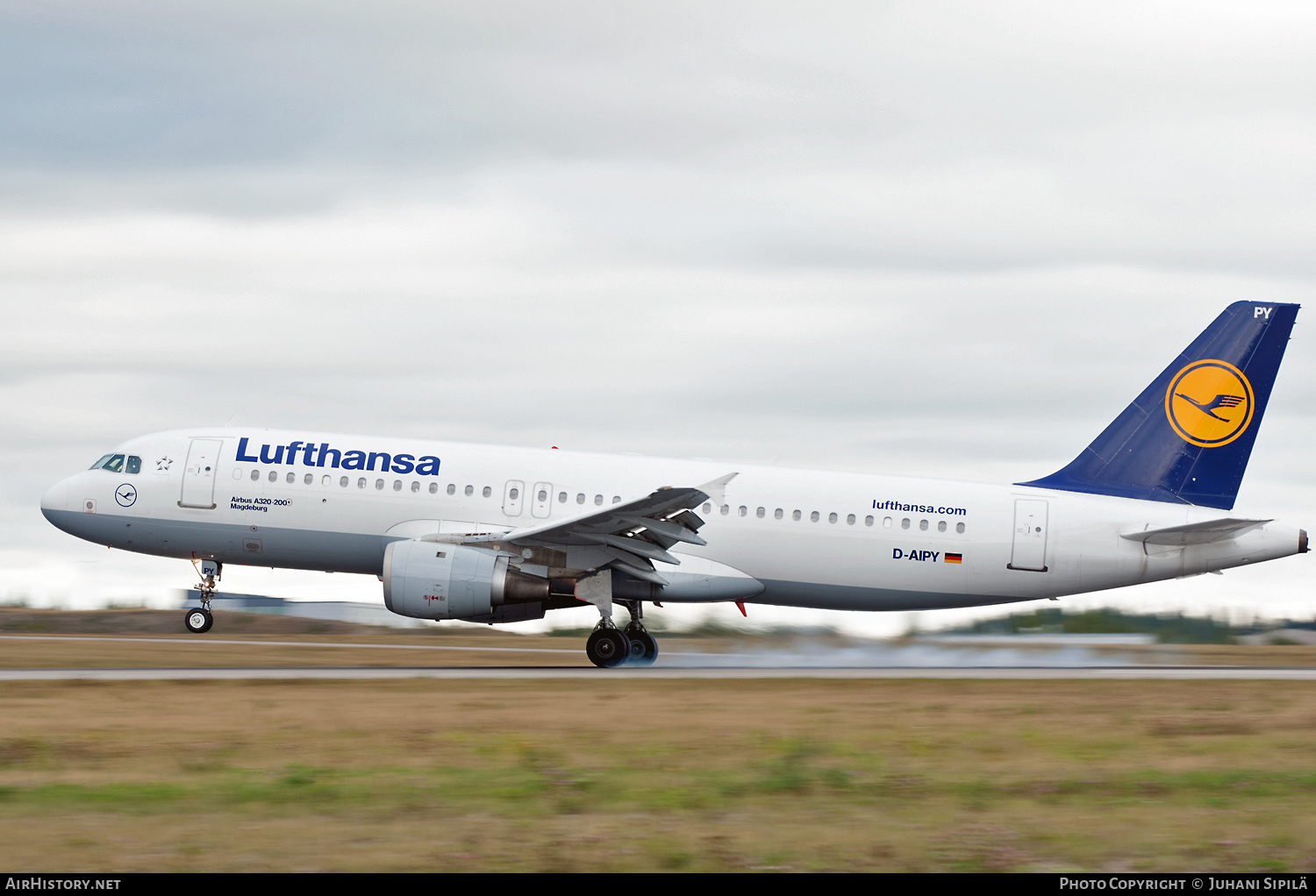 Aircraft Photo of D-AIPY | Airbus A320-211 | Lufthansa | AirHistory.net #184028